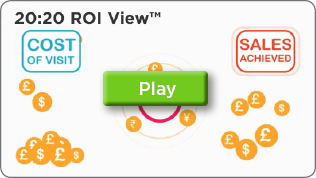 Screengrab of 20:20 Retail Data Insight ROI View Information Video