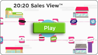 Screengrab of 20:20 Retail Data Insight Sales View App Information Video