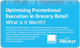 Optimizing Promotional Execution in Grocery Retail. What is it Worth?