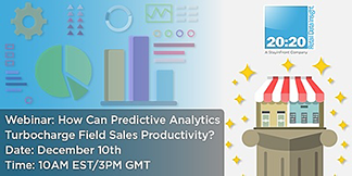 How Can Predictive Analytics Turbocharge Field Sales Productivity?